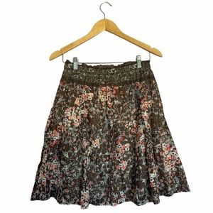 Catch my i Floral Skirt